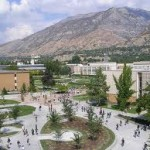 Wide Shot of the BYU Campus Quad
